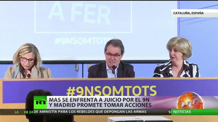 """Artur Mas: """"En las mismas circunstancias volvería a autorizar la consulta del 9N"""""""