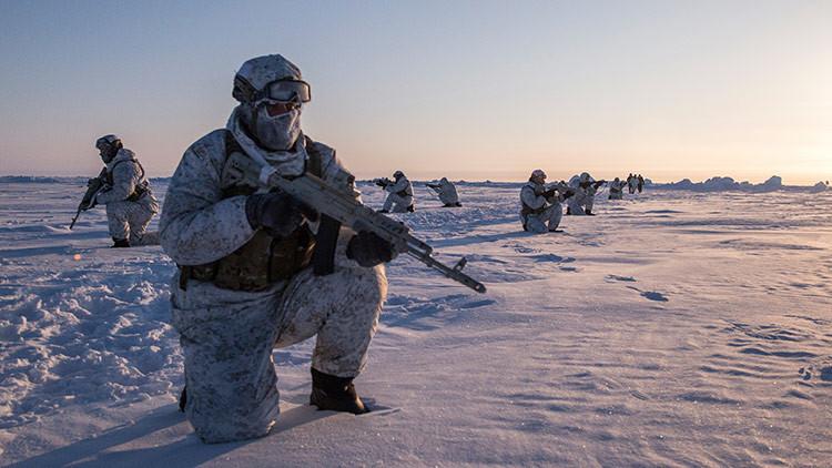 El Ejército ruso probará nuevo material bélico en el Ártico