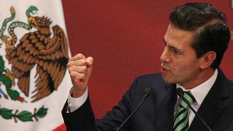 """""""Nuestra nación está a prueba"""": Peña Nieto llama a la unidad nacional ante los nuevos desafíos"""