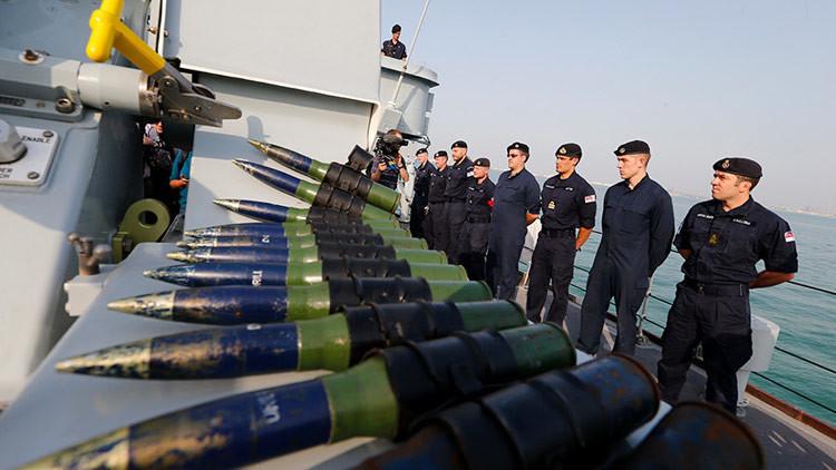 """Los destructores británicos son """"tan ruidosos"""" que los submarinos rusos pueden oírlos a 150 km"""