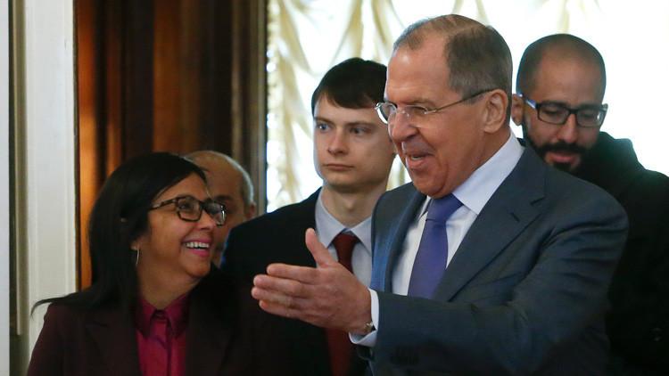 """Moscú: """"Las relaciones entre Rusia y Venezuela están en auge"""""""