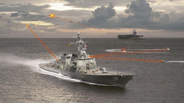 Destruir desde drones a misiles de crucero: EE.UU. probará un láser de combate de 150 kW de potencia