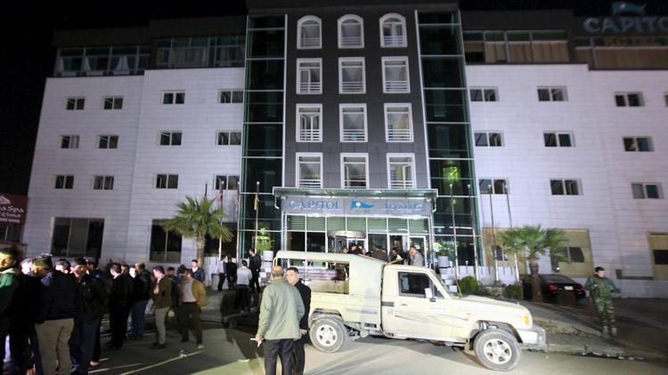 La embajada de EE.UU. en Irak recibe amenazas de posibles ataques contra hoteles en Bagdad