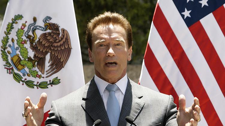 """Schwarzenegger afirma que quiso """"partirle la cara a Trump"""""""