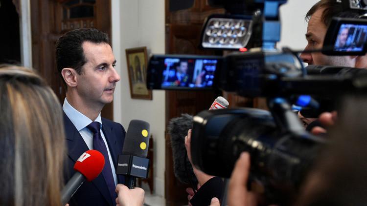 """Assad: """"Siria no pertenece a mi familia: cualquier ciudadano sirio tiene derecho a la presidencia"""""""