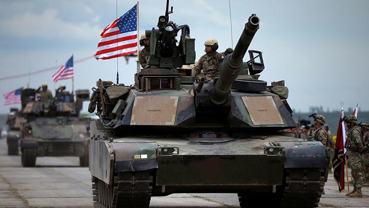 EE.UU. despliega tanques junto a la frontera rusa
