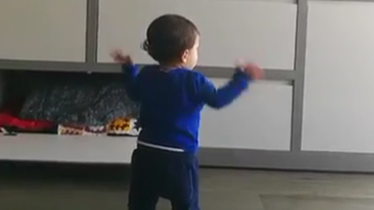 El hijo de Messi arrasa en Instagram casi antes de saber hablar