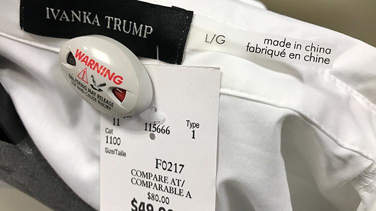 """Una asesora de Trump insta a comprar """"productos de Ivanka"""""""