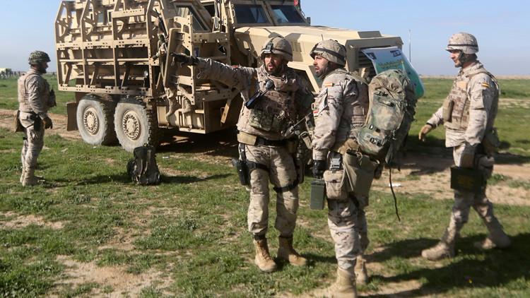 Se registra en España una explosión de mortero en un campo de maniobras del Ejército de Tierra