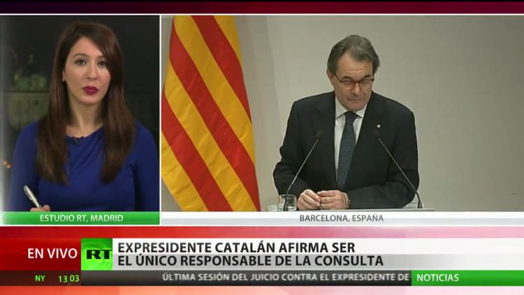 España: Mas ofrece una rueda de prensa tras la última sesión del juicio por la consulta del 9-N