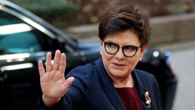 La primera ministra de Polonia termina en el hospital tras un accidente de circulación