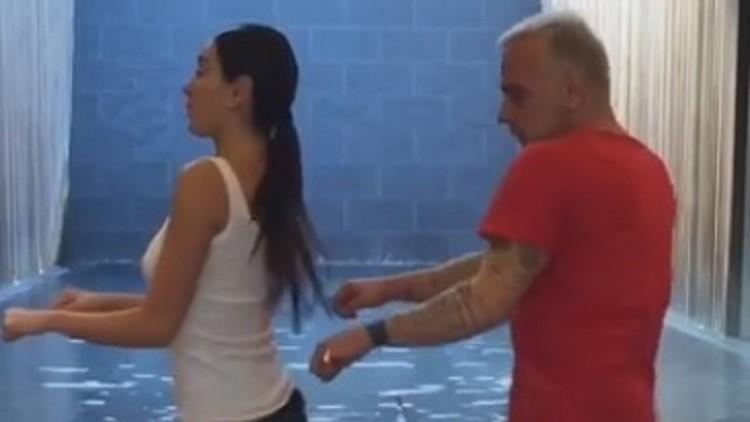 Gianluca Vacchi vuelve a revolucionar Instagram con uno de sus bailes (este con final sorpresa)