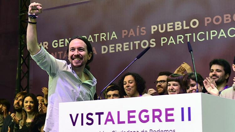 España: Pablo Iglesias se vuelve a coronar como secretario general de Podemos