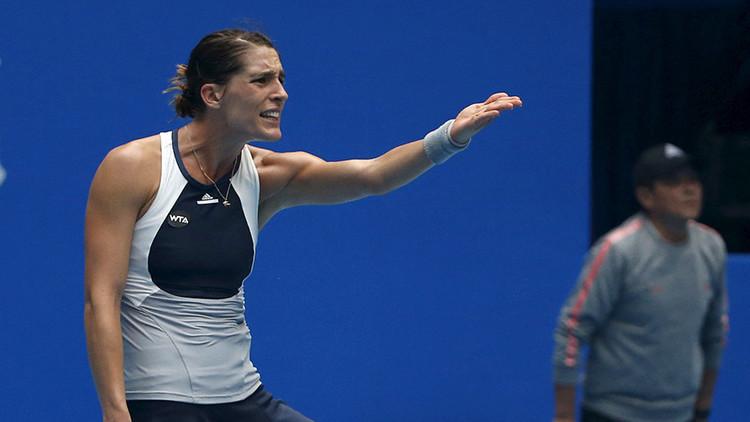 VIDEO: Momento en que el himno nazi suena en un partido de tenis femenino en Hawái