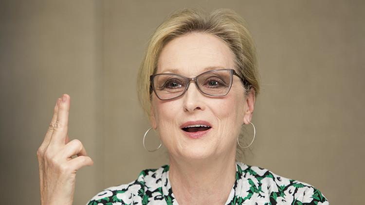 """Meryl Streep responde a Trump: """"Sí, soy la actriz más sobrevalorada... y la más 'sobre-reprendida'"""""""