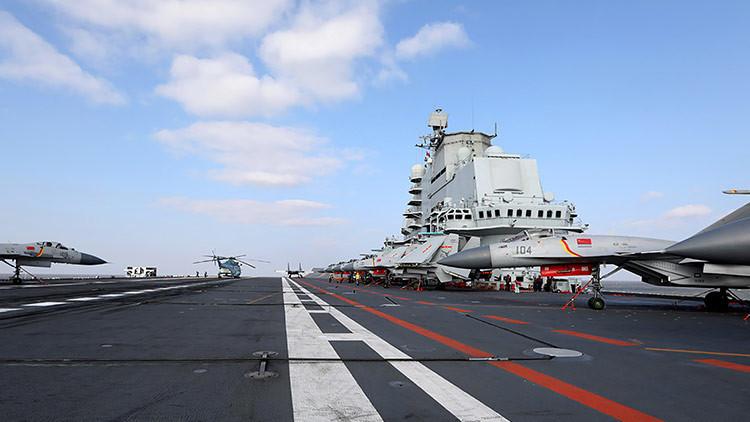 China filtra datos sobre su tercer portaaviones