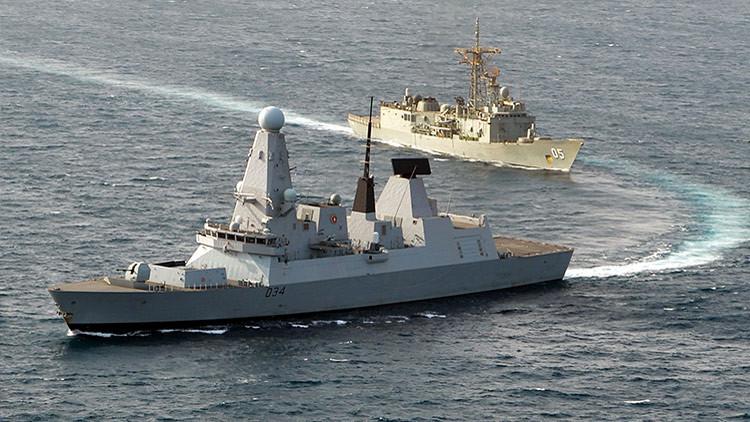 Un medio de EE.UU. ridiculiza al destructor de Reino Unido en el mar Negro