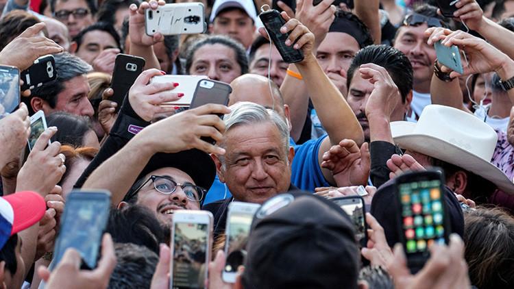 El sentimiento anti-Trump podría llevar a la Presidencia al líder opositor de México