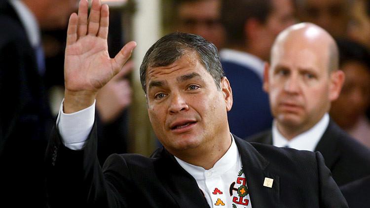 """Elecciones en Ecuador: La """"campaña sucia"""" que convierte a los corruptos prófugos en víctimas"""