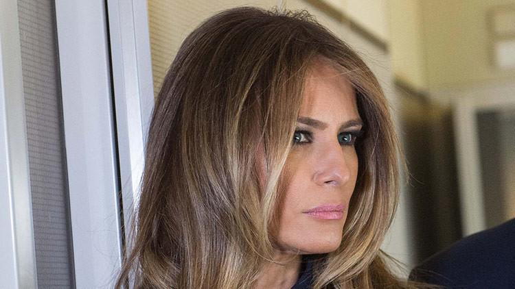 Oleada de críticas a Melania Trump en Twitter por su mensaje de apoyo a las mujeres