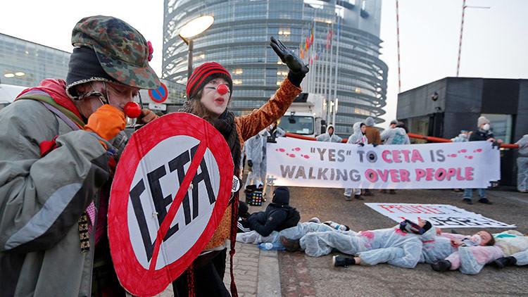 El Parlamento Europeo ratifica el  acuerdo comercial con Canadá (CETA)