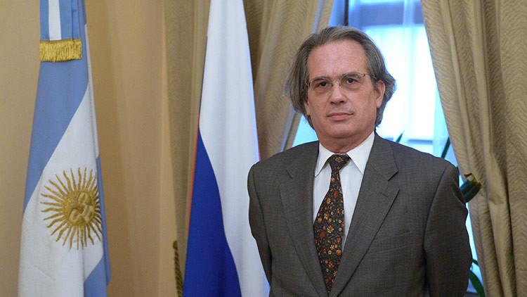 El embajador argentino en Rusia es desplazado por las críticas de su esposa a Macri