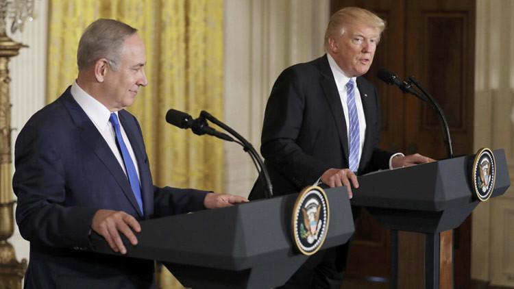 """Trump a Netanyahu: """"Nunca permitiremos que Irán tenga un arma nuclear"""""""