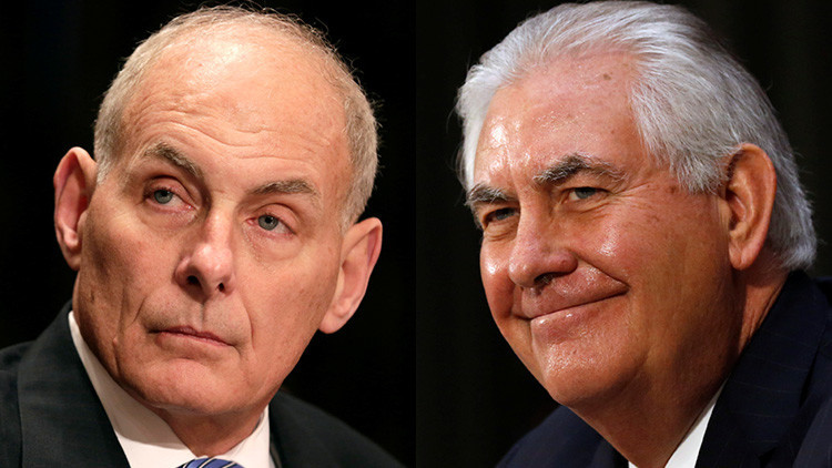 Rex Tillerson y John Kelly viajarán a México el 23 de febrero
