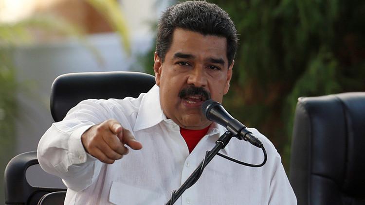"""Maduro: """"Venezuela responderá con firmeza a cualquier agresión de EE.UU."""""""