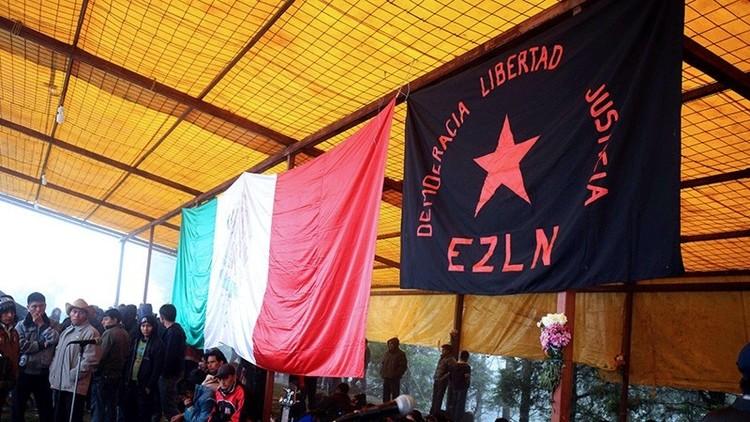 """""""América no volverá a ser grande de nuevo"""": Indígenas zapatistas de México llaman a la rebelión"""