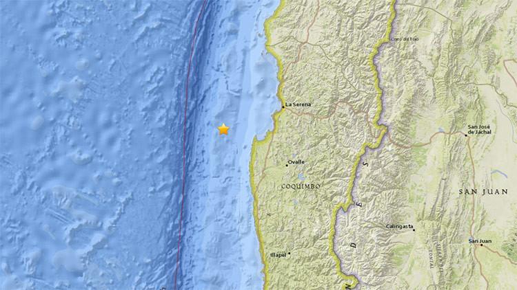 Un sismo de magnitud 5,2 sacude Chile