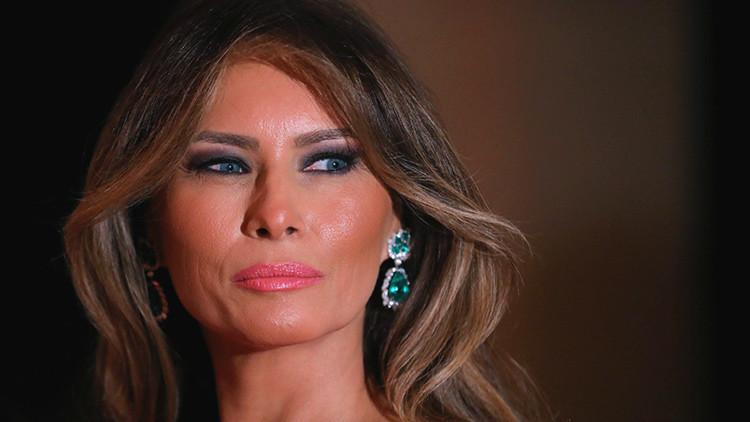 """Un periodista del 'New York Times' llama """"puta"""" a Melania Trump"""