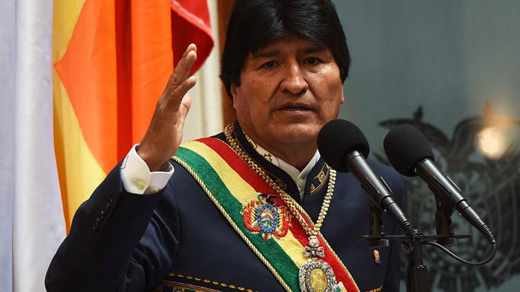"""Evo Morales: """"Democracia no es gobernar con la Constitución de Pinochet"""""""