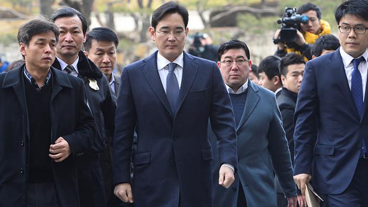 Arrestan al vicepresidente y 'heredero' de Samsung por corrupción