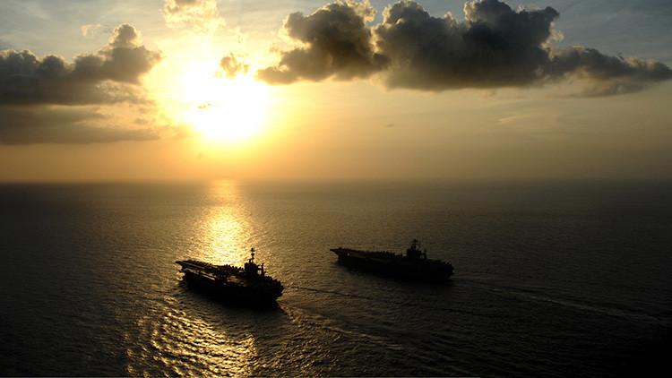 Submarinos no tripulados y un 'buque-arsenal': Así será la Marina de EE.UU. en 2030