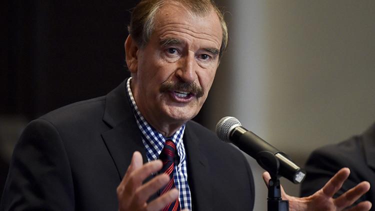 """Para Vicente Fox el presidente Trump es un """"comerciante barato"""" y un """"showman"""""""