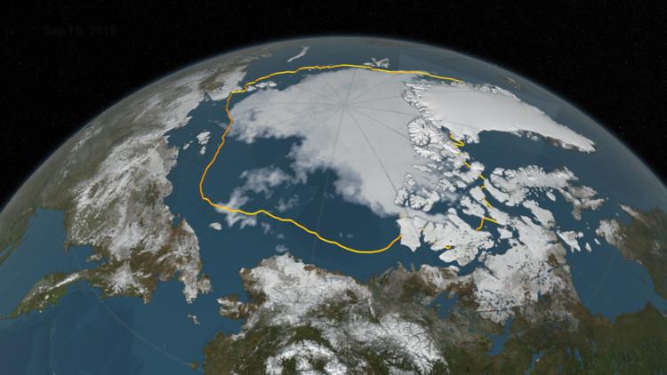 Los científicos presentan un plan para volver a congelar el Ártico