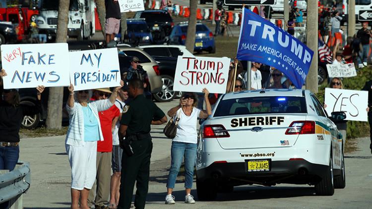"""La lista completa: Trump tacha a varios medios de ser """"enemigos del pueblo de EE.UU."""""""