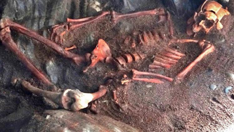 Reconstruyen el rostro de un hombre asesinado brutalmente hace 1.400 años (FOTOS)