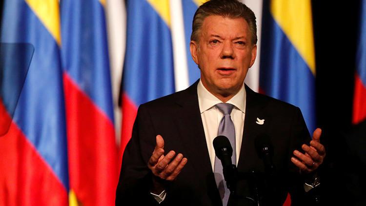 """Juan Manuel Santos: """"Para el 1 de junio las FARC entregarán todas las armas a la ONU"""""""