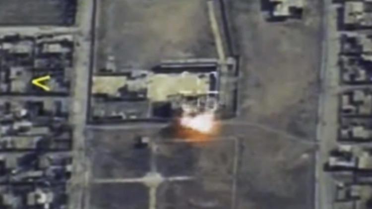 Así destruye un novedoso misil ruso un puesto de mando terrorista en Siria (Video)