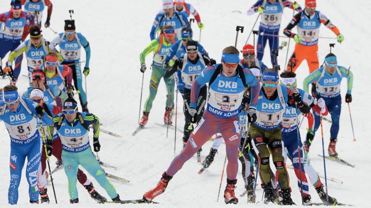 Rusia gana su primer oro en relevos masculinos en los Mundiales de Biatlón desde 2008