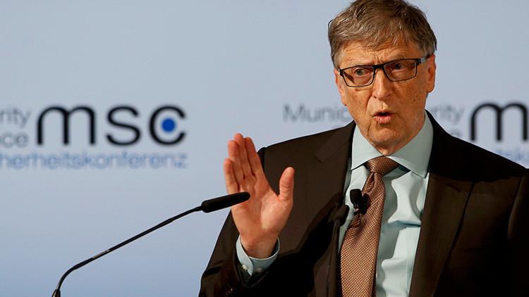 """Bill Gates advierte: """"El bioterrorismo puede matar a más gente que una guerra nuclear"""""""