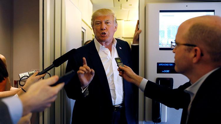 """""""¡Que se larguen de aquí!"""": Trump sobre los inmigrantes ilegales"""