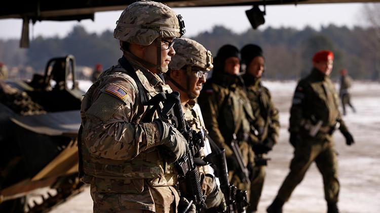 EE.UU. enviará un batallón de 1.000 soldados a la frontera rusa