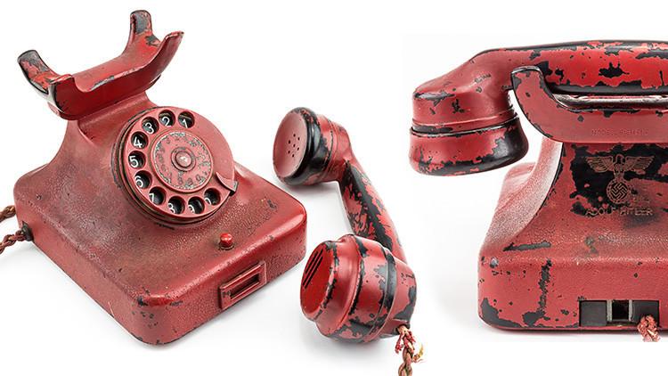 Subastado en EE.UU. el teléfono de Adolf Hitler
