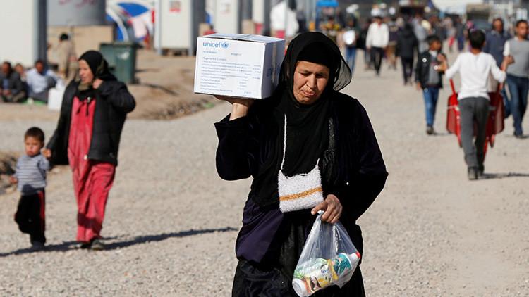 """""""Por hambre"""": Un hombre quema a su familia y se suicida en Mosul"""