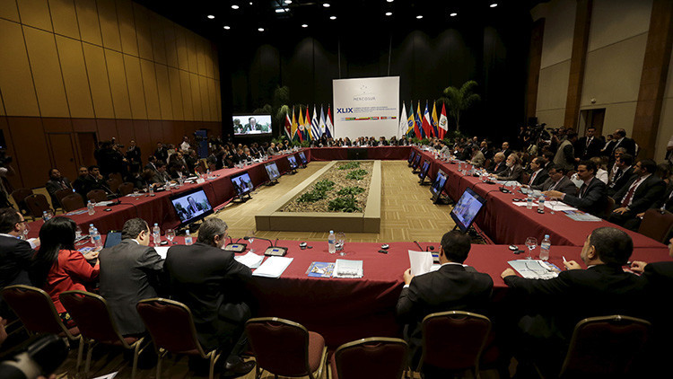 """Parlamento del Mercosur rechaza sanción contra Venezuela por """"carecer de base jurídica"""""""