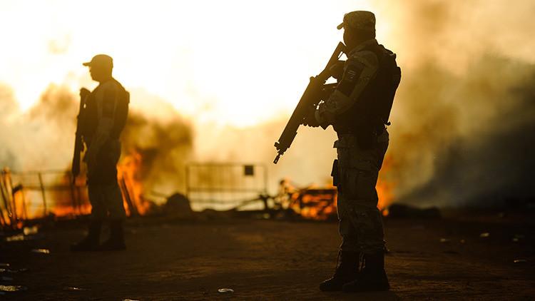 Madrugada de terror: Ladrones con rifles antitanque roban 20 millones de dólares en Brasil