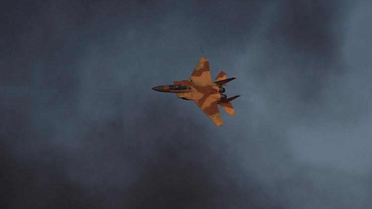 Israel bombardea las posiciones del Ejército Sirio cerca de Damasco